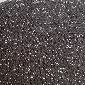 Anthropologie Sweaters - Anthro One Girl Who Black Cardigan with Tweed, M